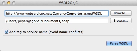 SOAP support in your iOS (iPhone/iPad) app using WSDL2Objc